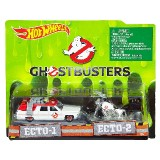 Ghostbusters (2016) Ecto-1 & Ecto-2 Vehicle 2-Pack
